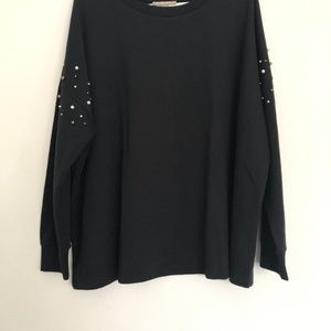Sweaters - Woman Within black pull over size 1x(22/24)